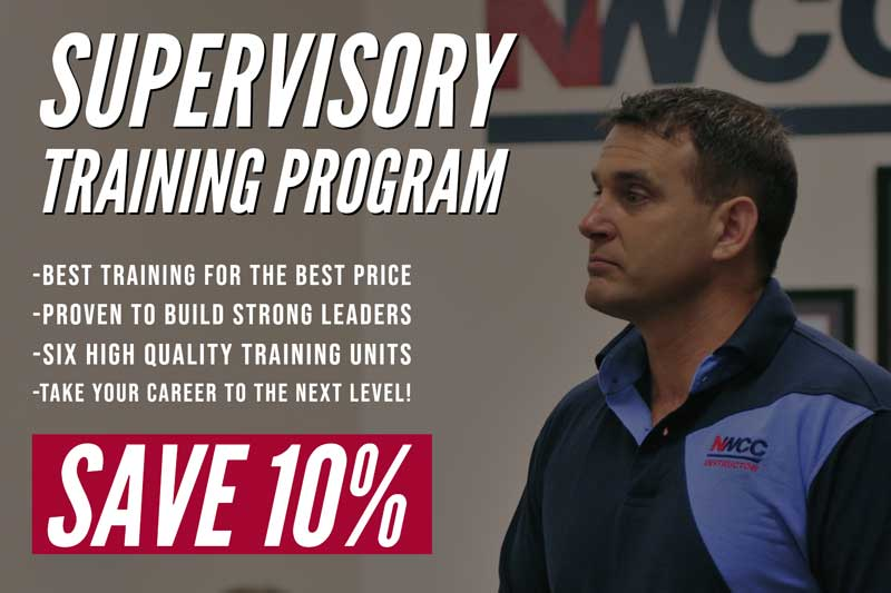 supervisory training program discount