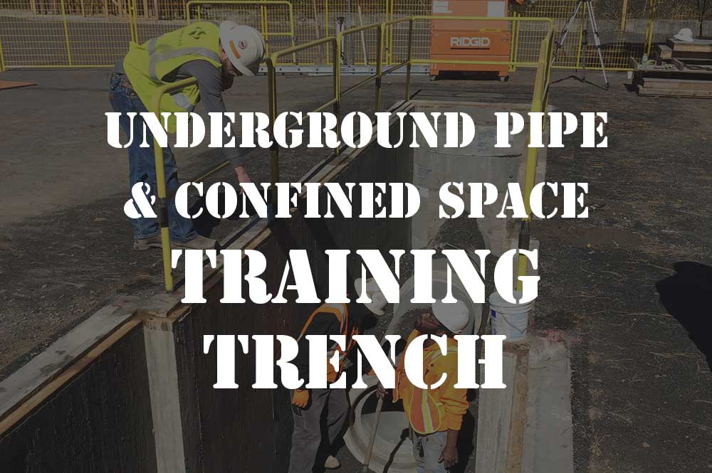 underground pipe & confined space training trench