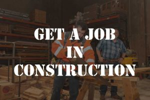 get a job in construction with northwest college of construction