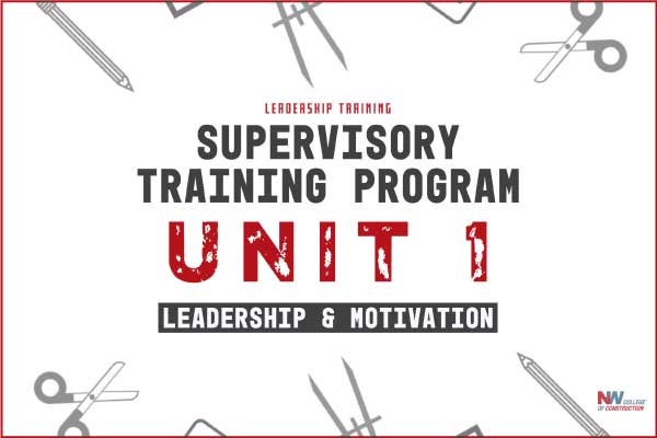 supervisory training program unit 1