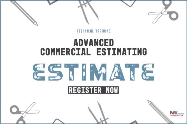 advanced commercial estimating course in Portland, OR