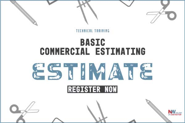 basic commercial estimating course in Portland, OR