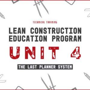 lean construction education program unit 4